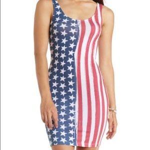 Charlotte Russe American Flag Dress